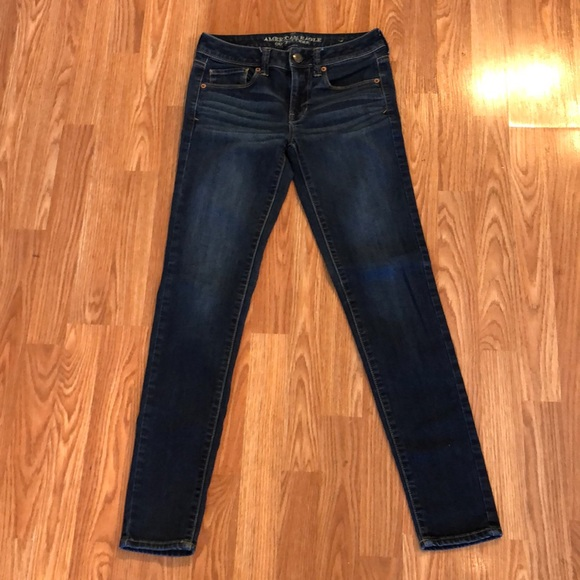 American Eagle Outfitters Skinny Mid Rise Jeans